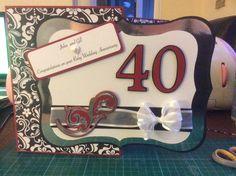 40th wedding anniversay