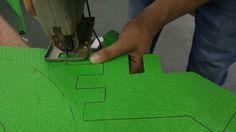 Proceso de producción de piezas