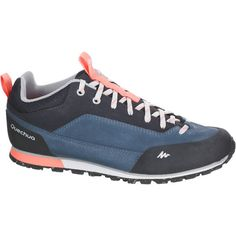 the best attitude 21451 0d904 Chaussures de randonnée nature femme Arpenaz 500 cuir Bleu Quechua - 1144074