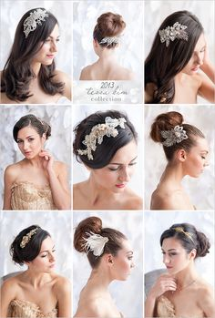 tessa kim wedding hair