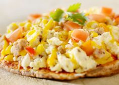 Whole Wheat Breakfast Pizzas – A healthy way to spice up your morning routine.