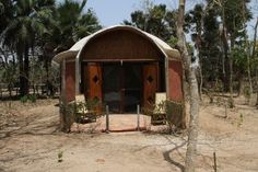 Gunjur, Gambia: Footsteps eco lodge
