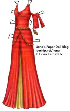 Liana's Paper Doll Blog - Inara The Train Job - Firefly