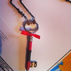 Handmade Konstantinos: Key necklace