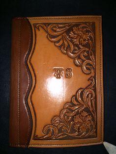 Custom made Leather portfolio. Dakota Culbertson 658e2304809a
