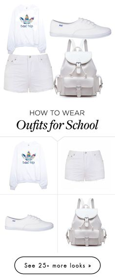"""""""back to school"""" by calizaasri-1 on Polyvore featuring Mode, adidas und Ally Fashion"""