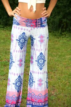 Purple Paradise Yoga Pants