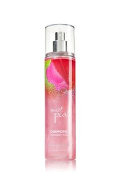Sweet Pea - Diamond Shimmer Mist - Signature Collection - Bath & Body Works - Dazzle with Diamonds! Infused with real diamond dust, our luxurious Diamond Shimmer Mist kisses skin with irresistible fragrance and gorgeous sparkle.