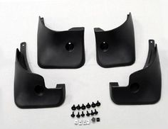 All Four Wheel's Splash Guard Mud Flaps for 2008 2009 2010 Toyota Rav4 RAV-4 with Side Wheel Fender Flare08 09 10 Designed for 2008 2009 2010 RAV4 Models with Fender Flare (For OEM chassis only , do not fit models with side skirt or any sports kit.). Condition: Brand New. Material :ABS Plastic. Package Included: Four flaps for four wheels All required mounting screws and washers. #phgiveu #Automotive_Parts_and_Accessories
