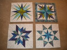 and more paper pieced blocks, the one in the upper right corner gave me so much trouble!  The one in the upper left I had to do twice to get it right!