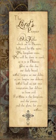 Lord's Prayer Prints by Jo Moulton at AllPosters.com