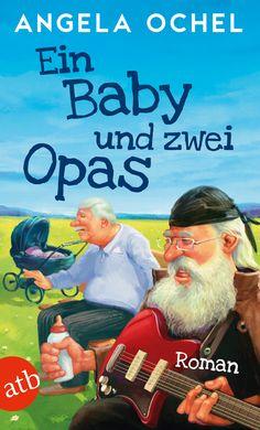 """Hippie-Opa Gunnar + Spießer-Opa Wilhelm + Baby Finn = 100 % Chaos garantiert // Wilhelm (82) ist total überfordert, das sieht Finn (1 ¾) sofort. Weder wusste sein Opa, dass er einen Enkel hat, noch scheint ihn die Aussicht, ein ganzes Jahr auf ihn aufpassen zu müssen, sonderlich zu freuen. Finn dagegen findet´s prima: Es macht einfach Spaß, den knurrigen Alten zu ärgern ...  Mehr zu """"Ein Baby und zwei Opas"""" unter www.aufbau-verlag.de/ein-baby-und-zwei-opas.html   #bücher #roman #humor"""