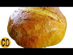 Najłatwiejszy domowy chleb bez wyrabiania ciasta! Cooking Day - YouTube