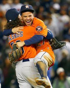 """MLB ⚾ on Instagram: """"H-Town hugs. AL #WildCard presented by @budweiser"""""""