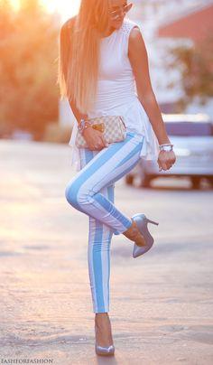 louis-vuitton-white-romwe-aquamarine-cablook fashforfashion.com