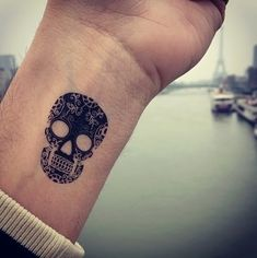 sugar skull girl tattoo meaning - Google Search