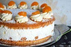 Käse-Sahne-Torte mit Mandarinen