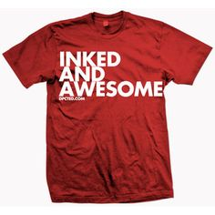 Inked And Awesome Red now featured on Fab.