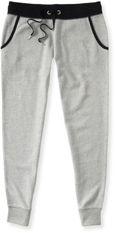 Solid Jogger Sweat Pants