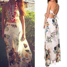 "Spotted while shopping on Poshmark: ""The MAYLENE floral skirt set - CREAM""! #poshmark #fashion #shopping #style #Dresses & Skirts"