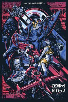 See You Space Cowboy Bebop Anime & Manga Poster Print Cowboy Bebop Tattoo, Cowboy Bebop Anime, Poster Art, Poster Prints, Poster Ideas, Comic Poster, Blue Exorcist, Cowboy Bebop Wallpapers, Cowboy Bepop
