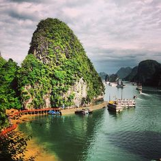 I will always hold Halong Bay close to my heart. This is where Andrew proposed to me <3