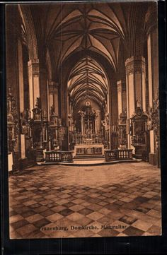 186.105 Frombork, Frauenburg, Domkirche, Maturaltar in Sammeln & Seltenes, Ansichtskarten, Ehemalige dt. Gebiete   eBay