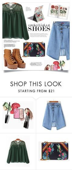 """""""Embellished Shoes"""" by mahafromkailash ❤ liked on Polyvore"""