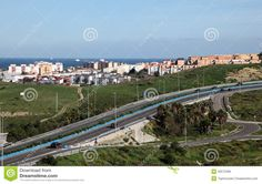 Highway In Algeciras, Spain Royalty Free Stock Images - Image ...