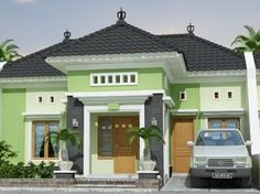 modern house front door designs with modern gable roof house design and three floor house front elevation House Roof Design, Unique House Design, Home Garden Design, Door Design, Front Design, Front Elevation Designs, House Elevation, Bungalow Haus Design, House Design Pictures