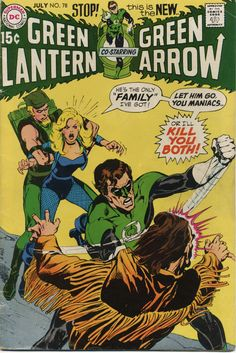Green Lantern & Green Arrow