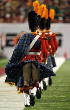 """ctymouse: """" It's a kilt. If he wore something underneath it then it would be a skirt. """""""