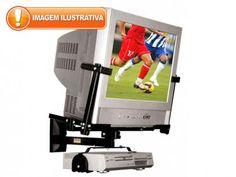 """Suporte para TV/DVD até 21"""" - Brasforma SBR 1.1 com as melhores condições você encontra no Magazine Voceflavio. Confira!"""