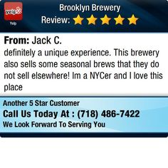 definitely a unique experience.  This brewery also sells some seasonal brews that they...