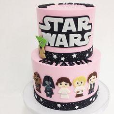 Star Wars Cake For Girl