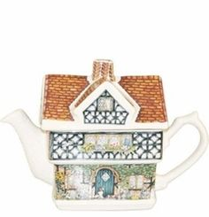 Ivy House Teapot - James Sadler James Sadler Teapots