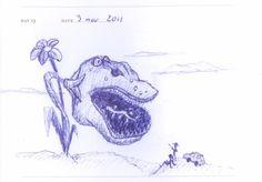 Doodle 013: Botanic Park