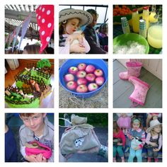 great ideas for farmyard food and decorations on this blog