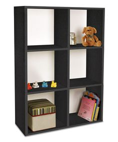 Take a look at this Black Tribeca Shelf by Way Basics on #zulily today!