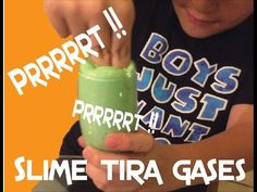 Como hacer slime tira gases - How to make a fart slime