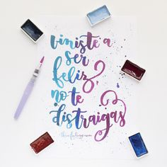 Tombow Brush Pen, Chalkboard Art, School Hacks, Letter Art, Doodles, Typography, Bullet Journal, Positivity, Scrapbook