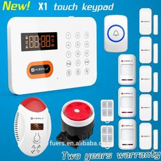 Check Out This Product On Alibaba.com App:Incredible Low Price Kerui X1  PSTN. Home Security Alarm System