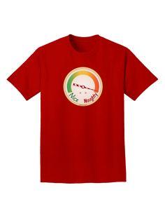 TooLoud Naughty or Nice Meter Naughty Adult Dark T-Shirt