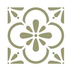 J Boutique Stencils Wall Moroccan Tile Stencil T0055 for DIY Wall Decor Furniture Floor Craft