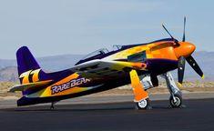 """F8F-2 Bearcat """"Rare Bear"""""""