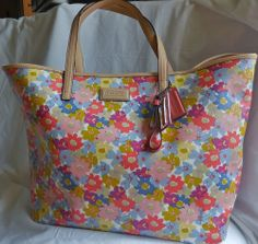 Coach Floral Print Tote...I think I love her!