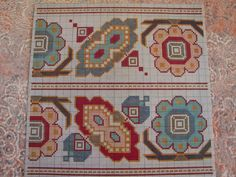 This Pin was discovered by Efr Dmc Cross Stitch, Cross Stitch Borders, Cross Stitch Designs, Cross Stitching, Cross Stitch Patterns, Folk Embroidery, Embroidery Patterns Free, Cross Stitch Embroidery, Needlepoint Stitches