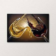 wine glass painting on canvas - Google Search