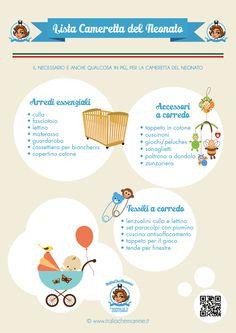 Organizzare la cameretta per il bebè - How to organize the nursery