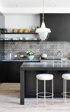DISC Interiors : Sunset Idea House : DISC designed a modern rustic kitchen for the 2014 Sunset Idea House in Manhattan Beach